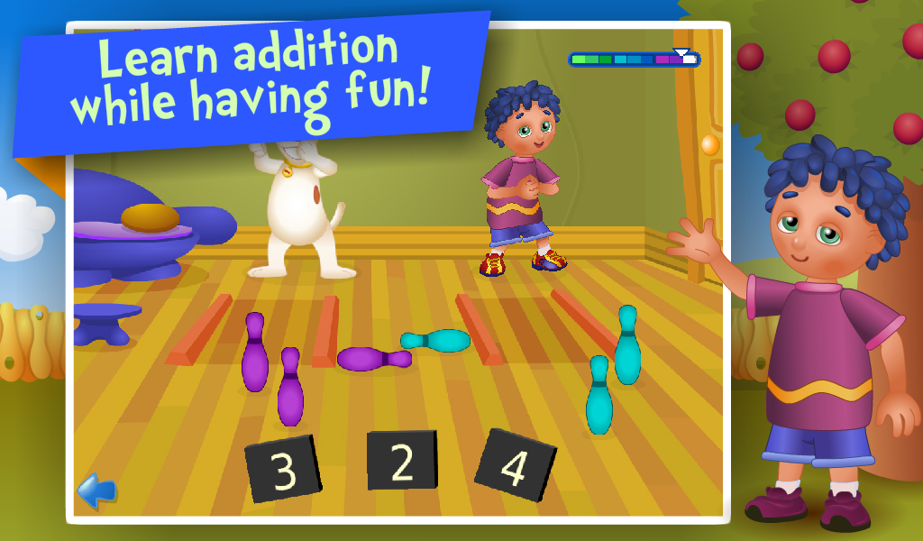 Preschool Toys And Games : Counting and addition math educational games for kids in