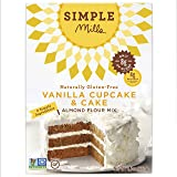 Simple Mills Vanilla Cupcake & Cake Mix - Pack of 3