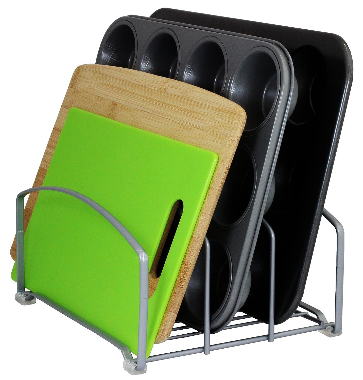Decobros Kitchen Pantry Organizer Rack Dishes Cutting Board Storage Holder Shelf Ebay