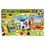 LEGO Duplo Town Fun Family Fair Building Kit, Multicolor (Color: Multicolor)