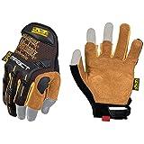 Mechanix Wear - Leather M-Pact Framer Gloves (Medium, Black/Brown) (Color: Tan, Tamaño: Medium)