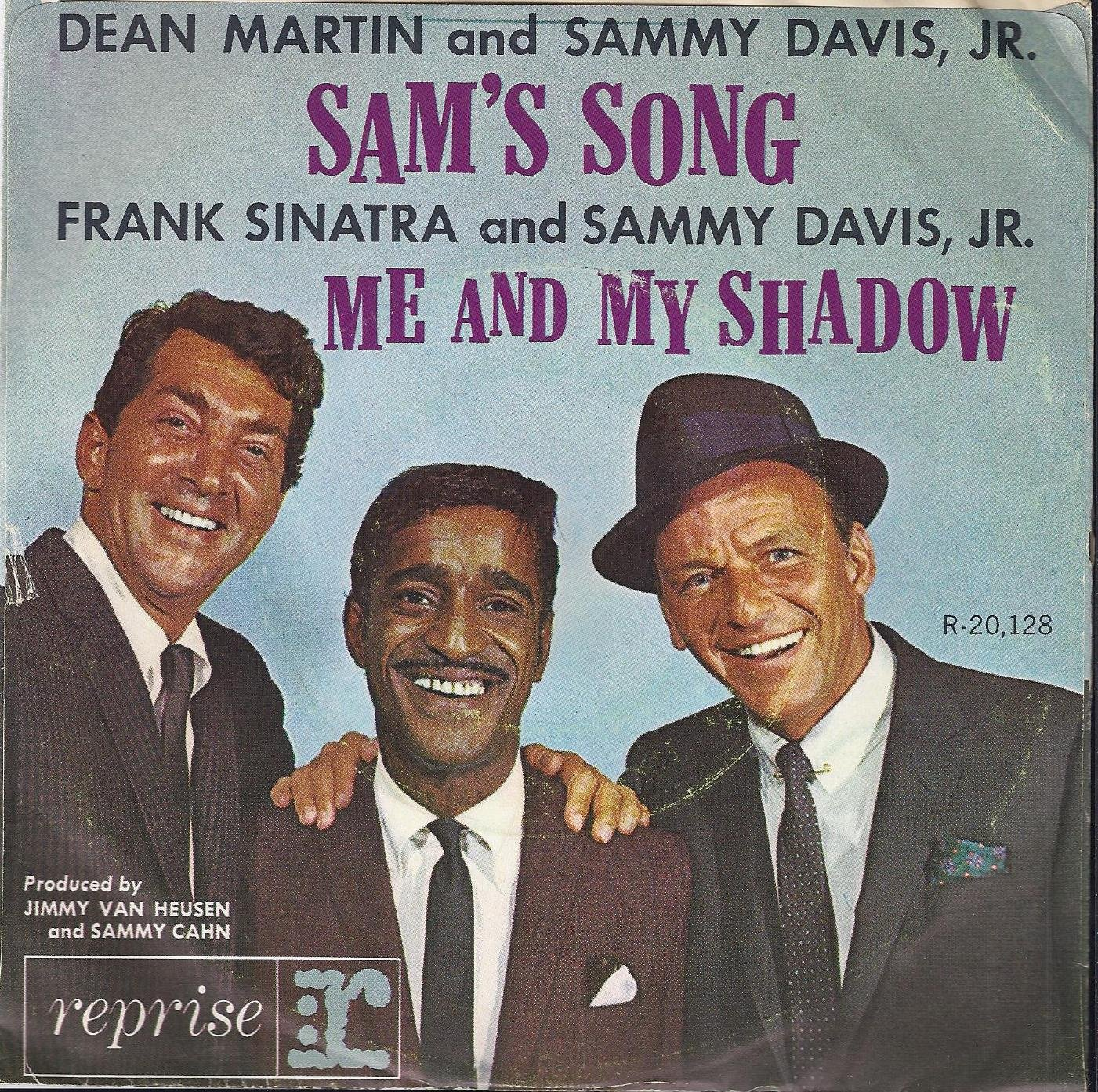 Rat Pack ~ Dean Martin, Sammy Davis Jr, & Frank Sinarta Me And My Shadow Framed 24Kt Gold Record Rare Music Memorabilia rat race