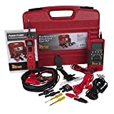 Power Probe Professional Electrical Test Kit - Red (PPROKIT01) Inc III w/PPDMM & Accessories [Measures Resistance, Current & Frequency] (Color: Red)