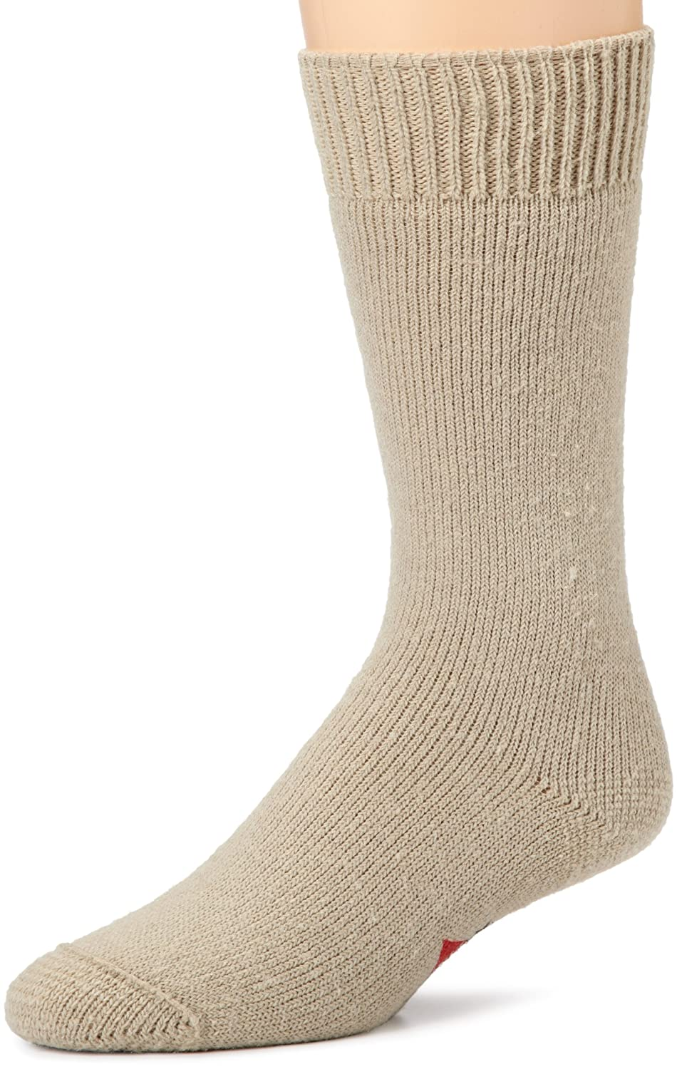 Wigwam Mens Combat Boot 2 Pack Socks, Sand, Medium