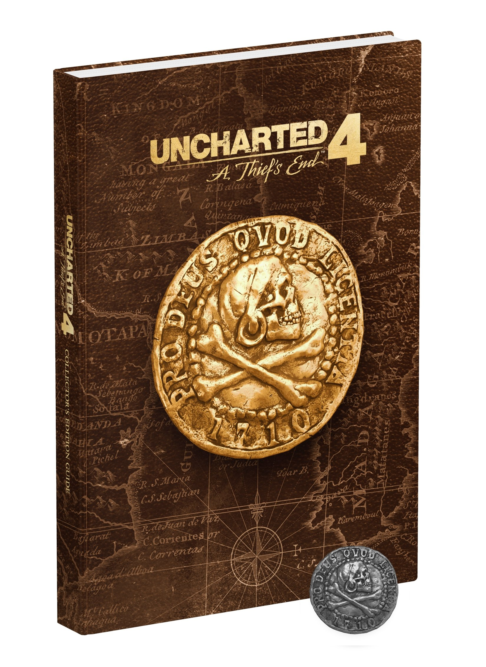 Uncharted 4: A Thief's End Collector's Edition Strategy Guide ISBN-13 9780744016628