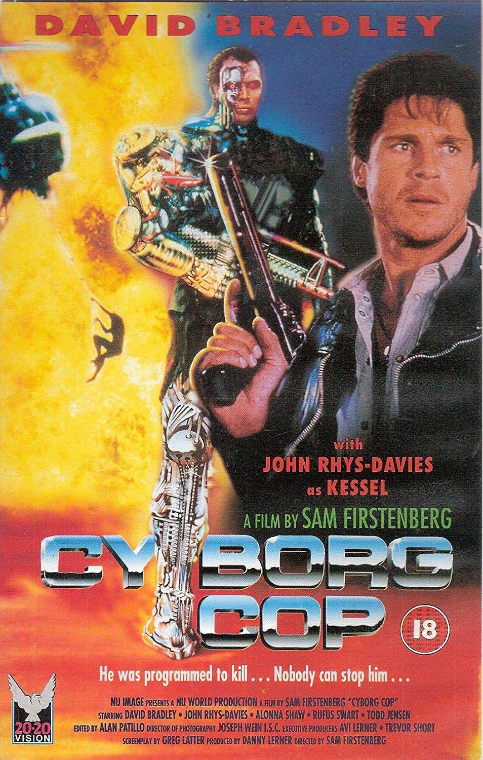 Cyborg Cop Movie Poster