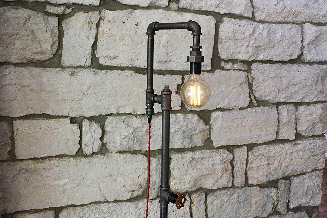 Edison Bulb Floor Lamp - Industrial Style Floor Lamp 2