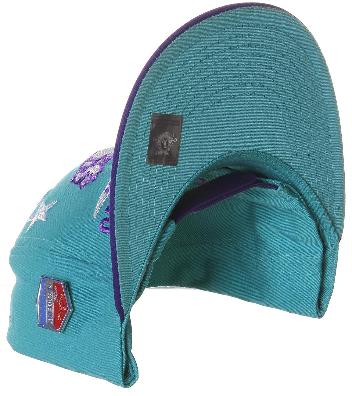 California Republic Flat Bill Vintage Style Snapback Hat Cap 5