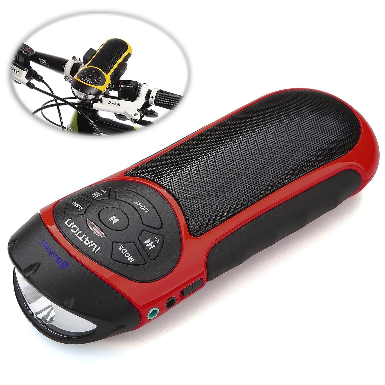 Faro y radio para tu bicicleta con altavoz estéreo, radio y  MP3