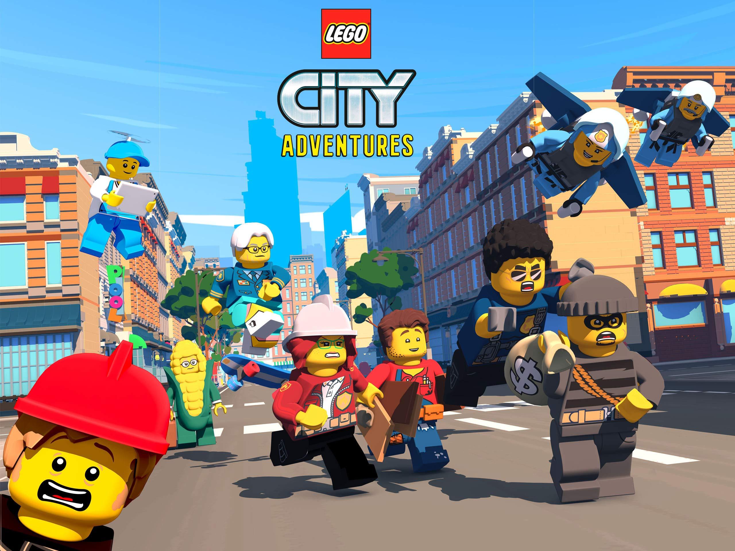 LEGO City Adventures on Amazon Prime Video UK