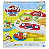 Play-Doh Kitchen Creations Sizzlin' Stovetop (Color: Brown/a)