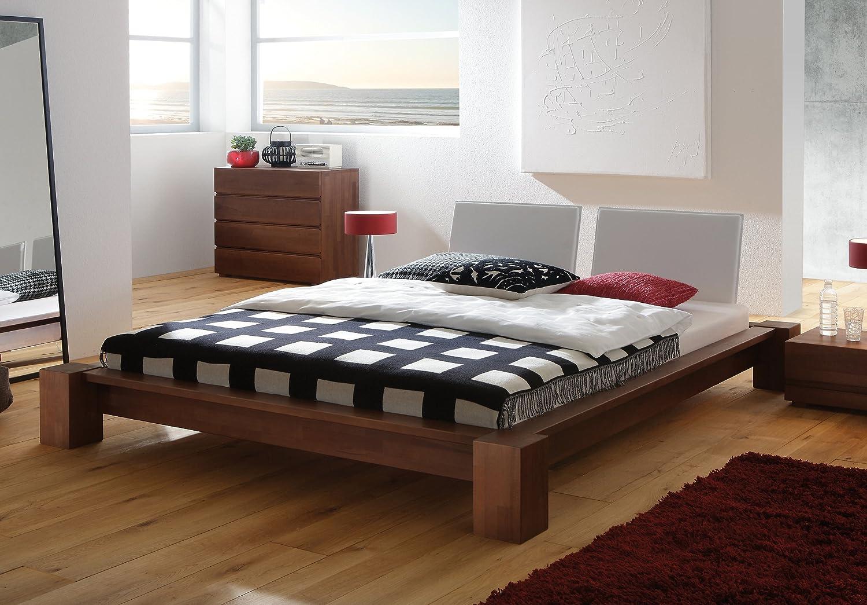 Stilbetten Bett Futonbetten Antonia Buche weiß lasiert 180×200 cm günstig bestellen