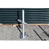 Metaltech M-MBSJP24H 24 in. Adjustable Leveling Jack (Tamaño: 24