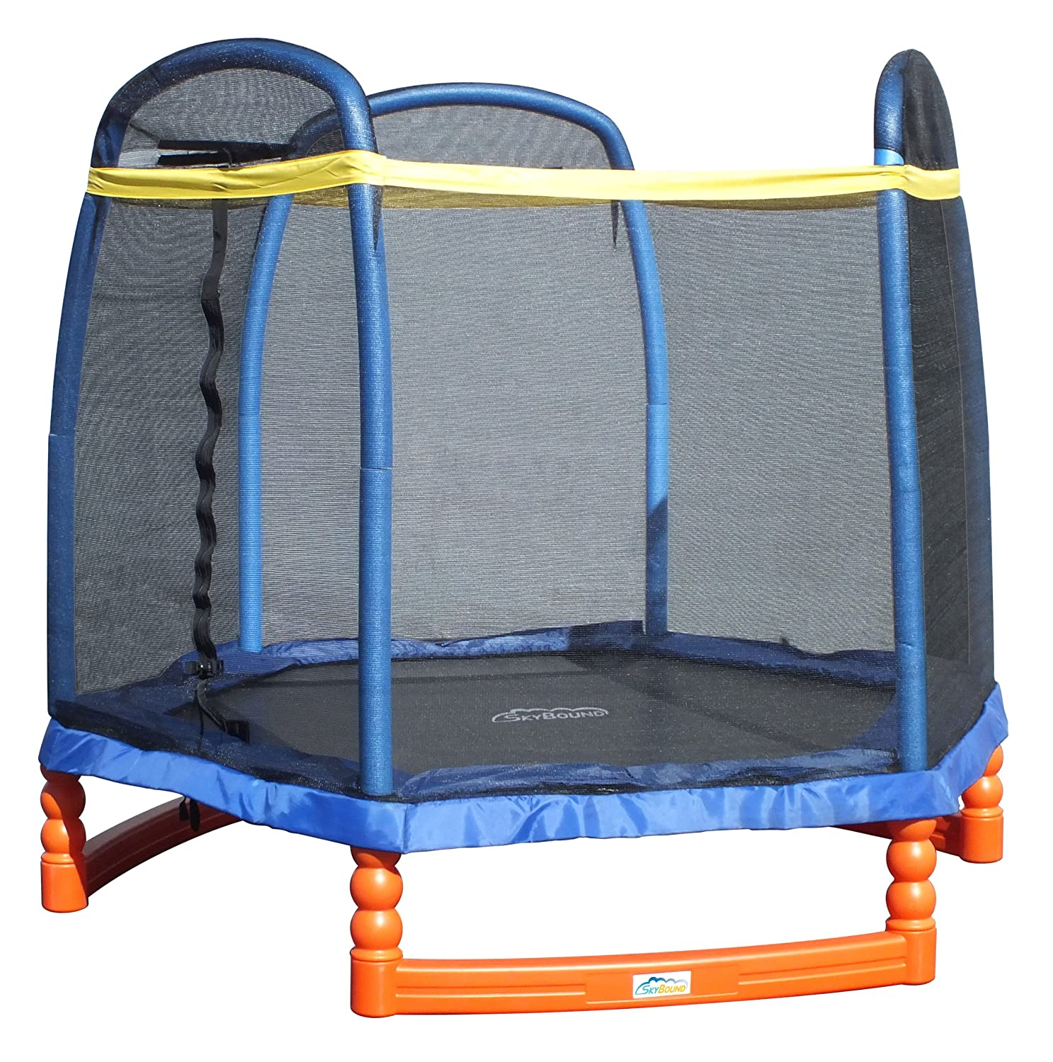 Terrific toy to get your kids moving! SkyBound Super 7 Trampoline Review
