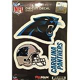 NFL Carolina Panthers Team Decal, 3-Pack