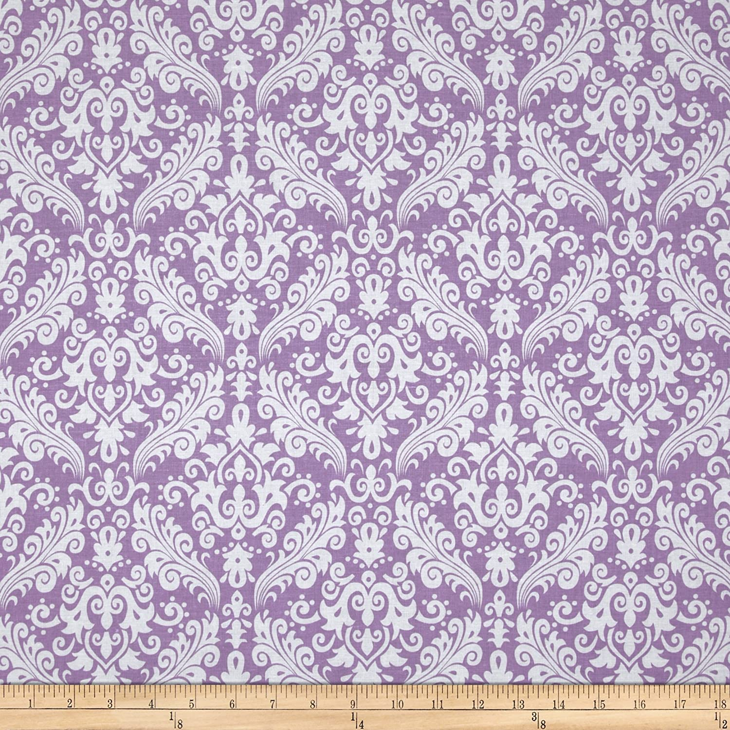 Riley Blake Medium Damask Lavender Fabric lucinda riley tormiõde