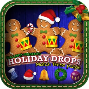 Holiday Drops - Match three puzzle from Bullbitz