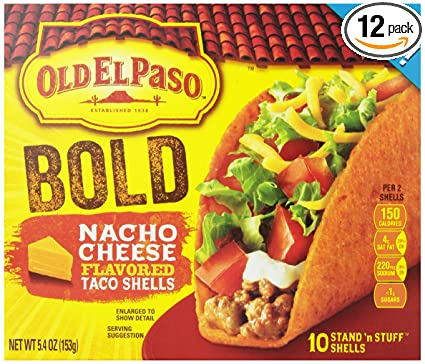 old el paso nacho kit instructions