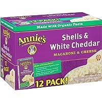 12-Pack Annie's Shells & White Cheddar Macaroni & Cheese