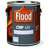 Penetrating Wood Finish, FLD521/01, Redwood, 1 gal, CWF-UV for Decks, Fences and Siding