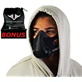 Vikingstrength Fitness Mask Pro - For Running, Biking and Fitness, With Adjustable Resistance, High Altitude Elevation Mask for Training