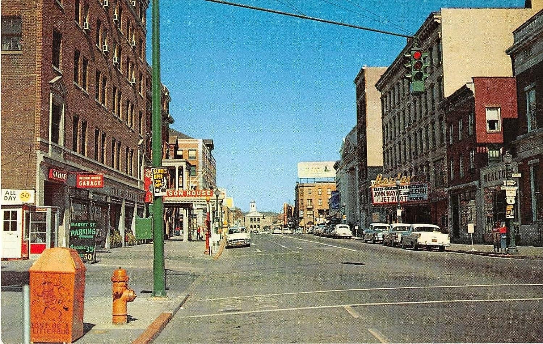 Poughkeepsie, New York postcard