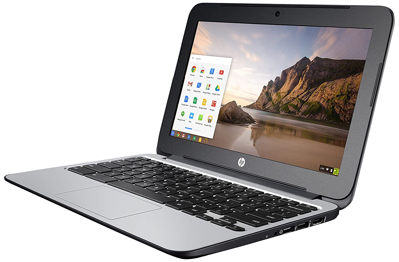 "HP Chromebook 11 G3 - Celeron N2840 / 2.16 GHz - Chrome OS - 2 GB RAM - 16 GB SSD - 11.6"" 1366 x 768 ( HD ) - Intel HD G L8E74UT#ABA"