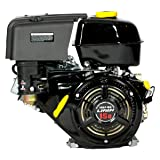 Lifan LF190F-BQ 15 HP 420cc 4-Stroke OHV Industrial Grade Gas Engine with Recoil Start and Universal Mounting Pattern (Color: Recoil Start, Tamaño: 15 MHP)