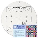 June Tailor Charming Circles Ruler (Color: Transparent, Tamaño: Original Version)
