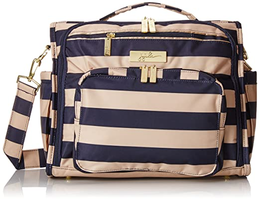 Amazon.com : Ju-Ju-Be Legacy Nautical Collection B.F.F. Convertible Diaper Bag, The First Mate : Baby