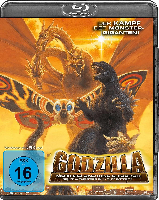 Godzilla, Mothra and King Ghidorah, Blu-ray