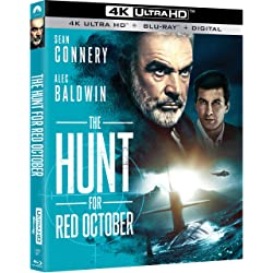 The Hunt For Red October [4K Ultra HD + Blu-ray]