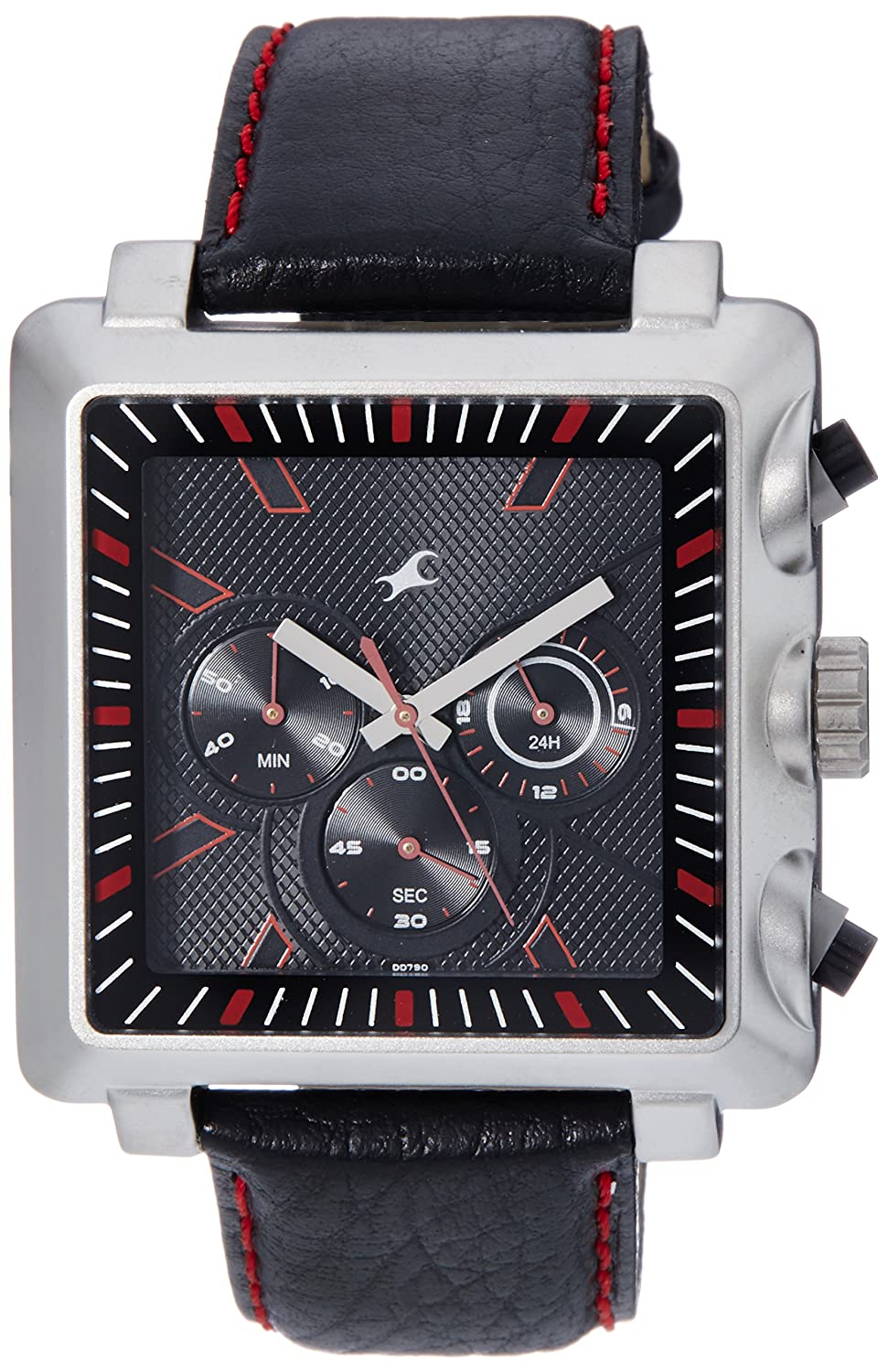Fastrack Chronograph Black Dial Men's Watch – 3111SL01 @ Amazon.in – Rs.1444 – Fashion & Apparels