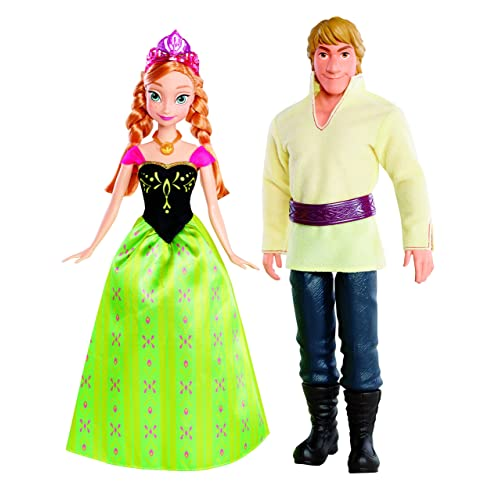 Disney Frozen Anna and Kristoff Doll 2-Pack