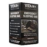 Titan Emergency Sleeping Bag/Thermal Bivy | Dark-Earth | PE, 36