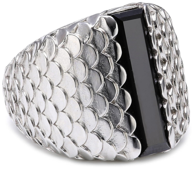 caï Damen-Ring 925 Sterling Silber rhodiniert Zirkonia schwarz Gr. 54 (17.2) C1371R/90/43/54 jetzt kaufen