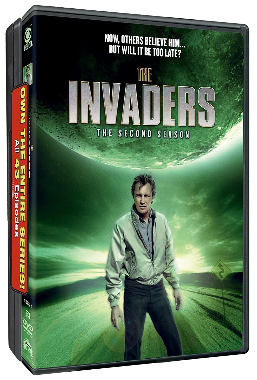 The Invaders Dvds