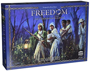 La liberté Underground Railroad - jeu de société