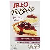 Jell-O No Bake Cheesecake Dessert, Cherry, 17.8 Ounce (Pack of 6)