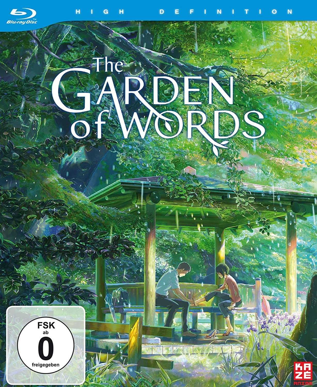 The Garden of Words, Blu-ray
