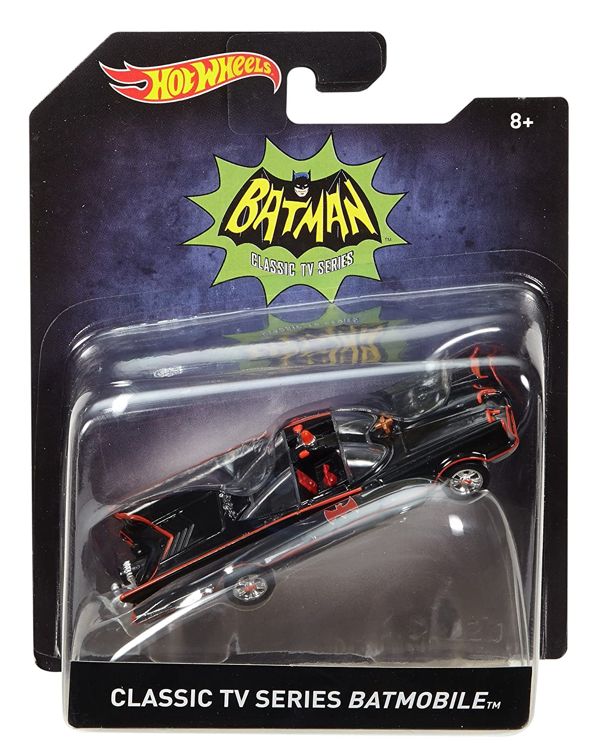 Hot Wheels Classic TV Series 1966 Batmobile Vehicle