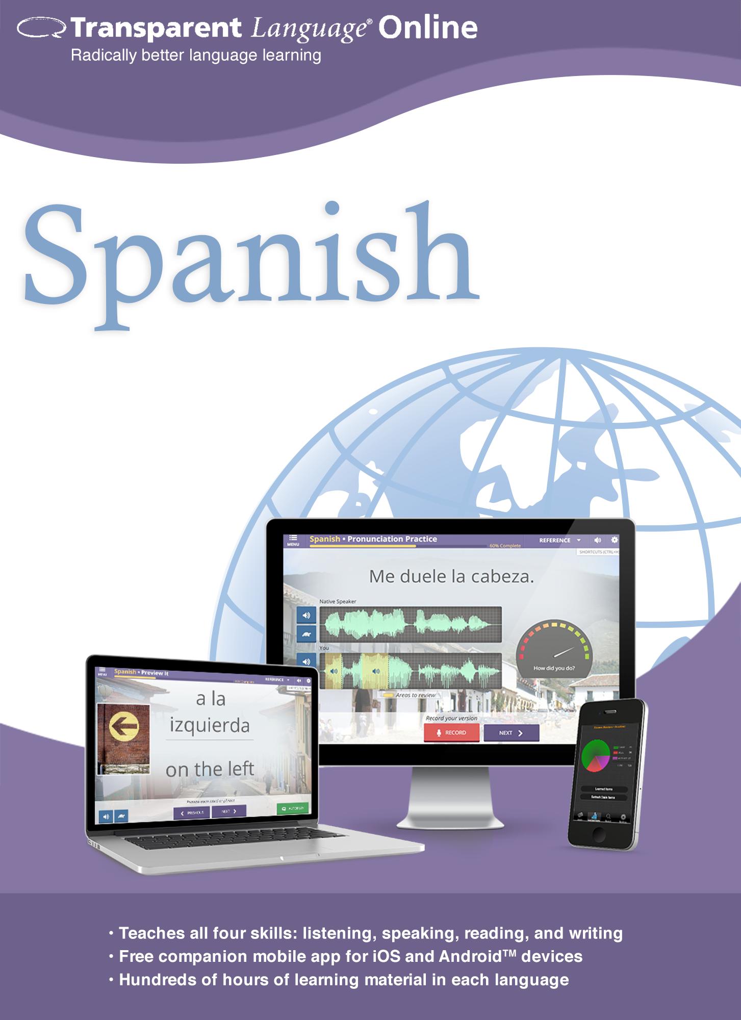 Transparent Language Online - Spanish - 12 Month Subscription for Mac [Online...