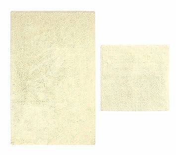 casalanas albarella doux doux tapis de bain antid rapant 100 100 coton naturel. Black Bedroom Furniture Sets. Home Design Ideas
