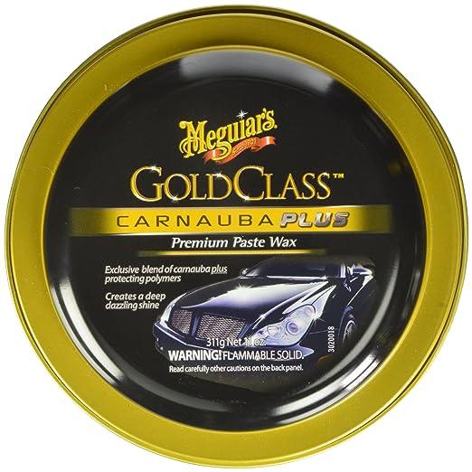 Meguiar's G7014J Gold Class Carnauba Plus Paste Wax
