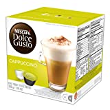 NESCAFÉ Dolce Gusto Coffee Capsules Cappuccino, 16 Count (Pack Of 3) (Color: Cappuccino, Tamaño: 16 Count (Pack of 3))