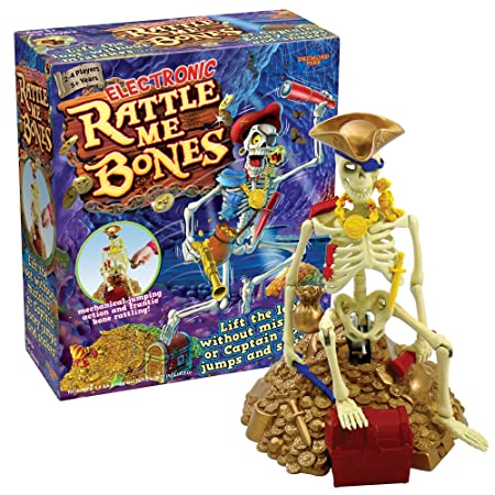 Rattle Me Bones – Jeu de Société Captaine Carcasse Electronique Version Anglaise