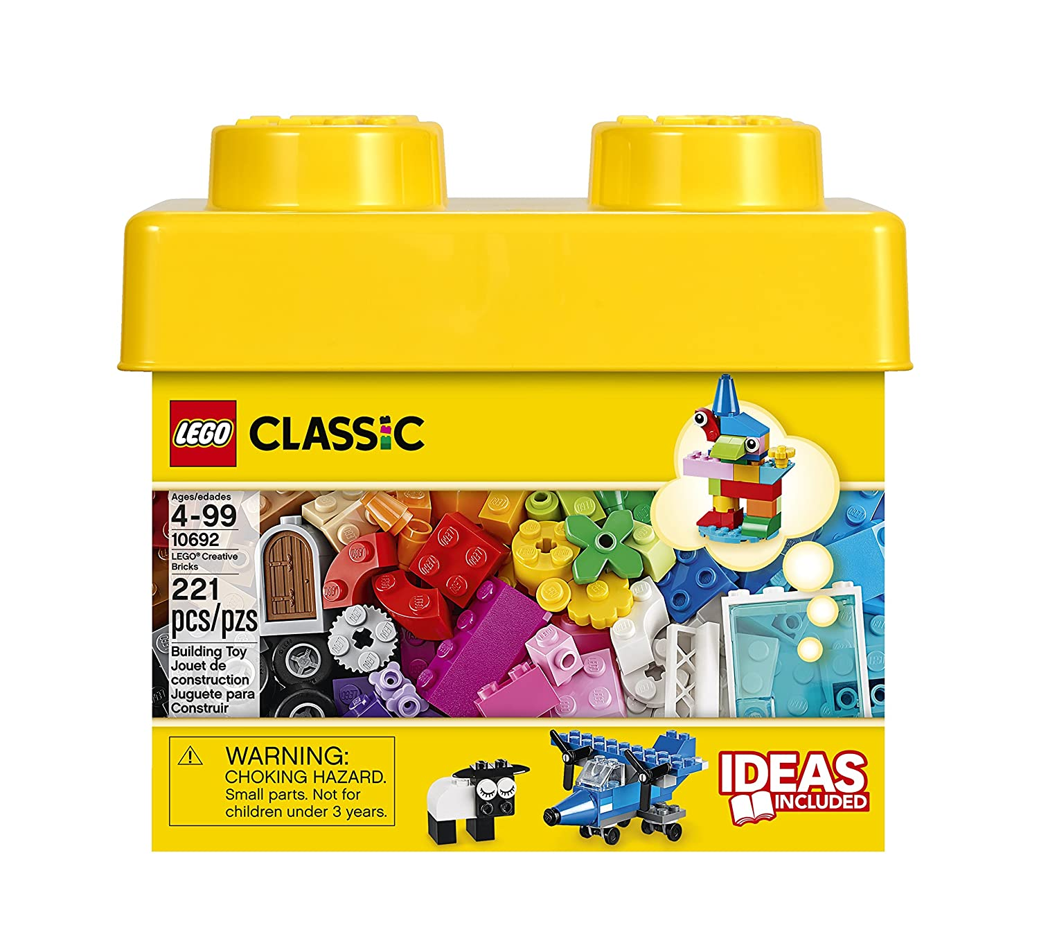 Lego classic creative bricks new free shipping for Modele maison lego classic