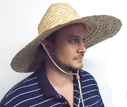 Straw Hat Lifeguard Hat