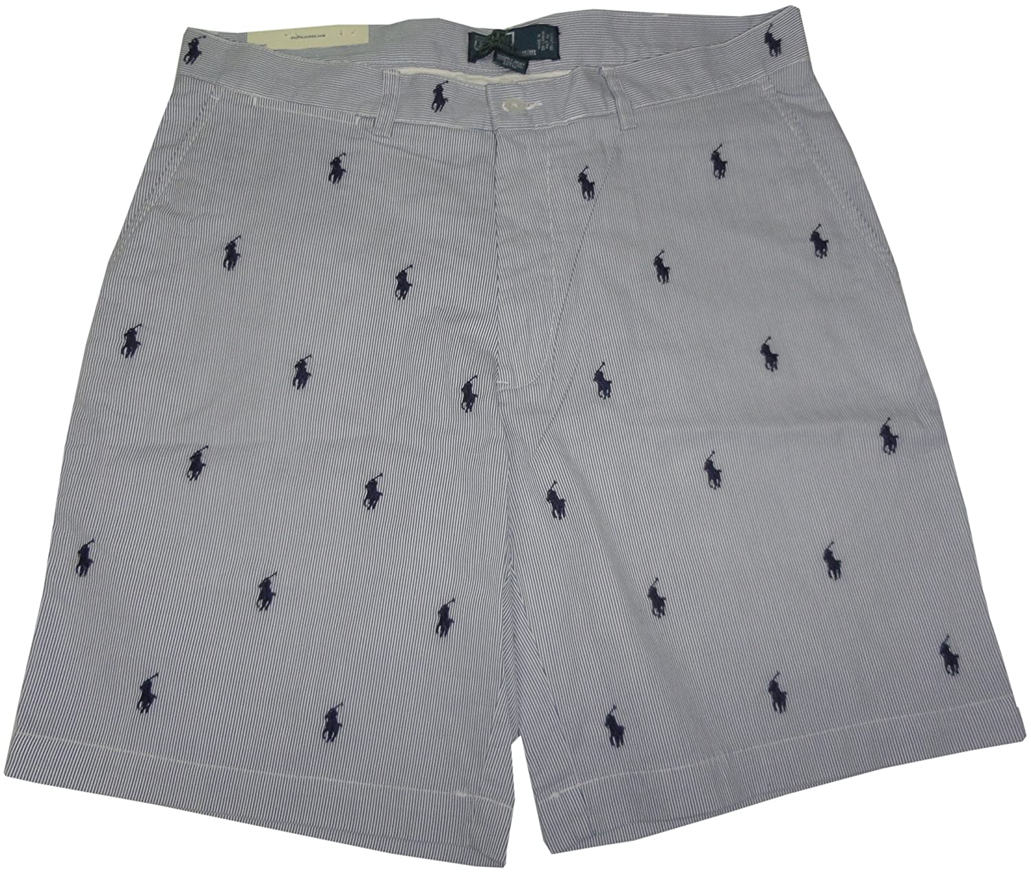 Marein Ralph Lauren Polo Shorts With Logo All Over