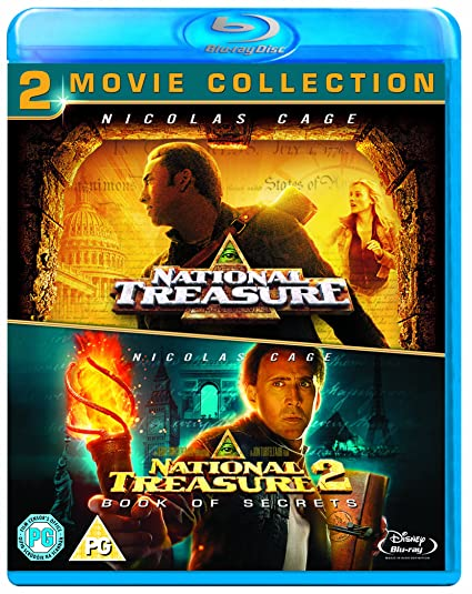 National Treasure 1 & 2 Double Pack [Blu-ray] [Region Free]